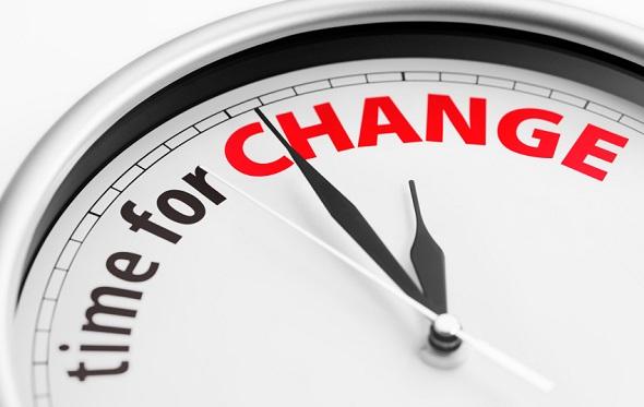 وقت التغيير حان في زمن الكورونا