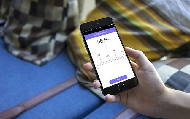 تطبيقات على الآي-فون تُساعدك على تتبع درجة حرارة الجسم