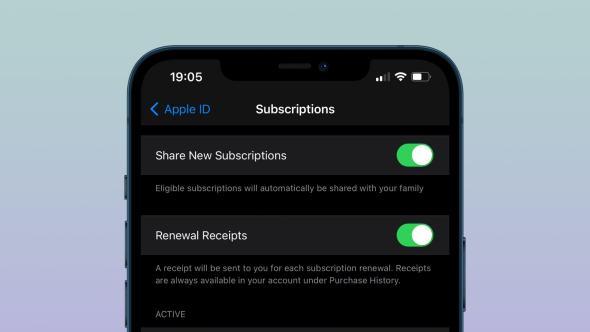 الآن خاصية مشاركة اشتراكات التطبيقات مع العائلة متوفرة