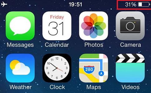 iPhone 6s batarya problemi
