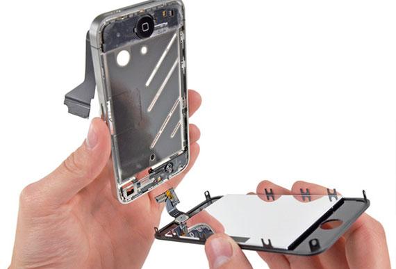 iphone 4 kırık cam değişimi