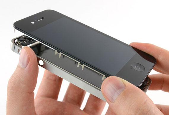 apple iphone 4s ekran değişimi
