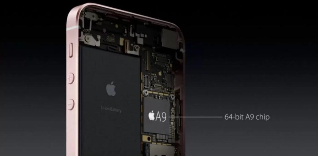 Процессор Apple A9 в iPhone SE
