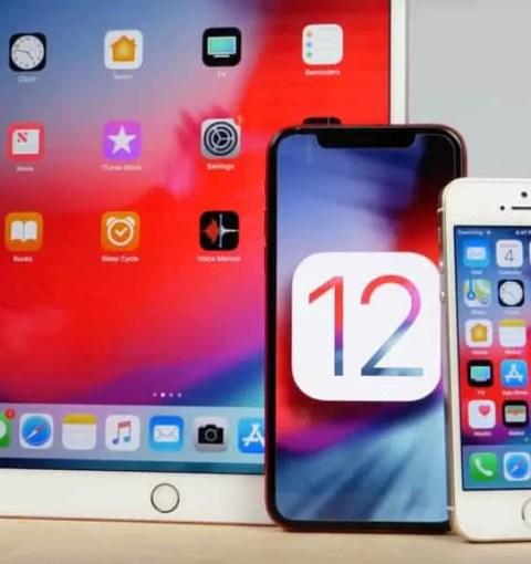 iOS 12 на iPhone и iPad
