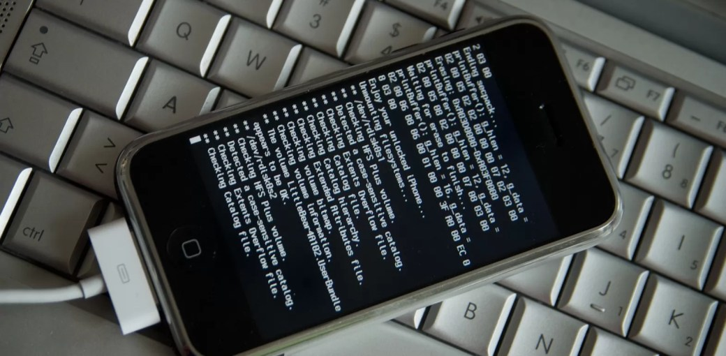 Взломанный iPhone 4