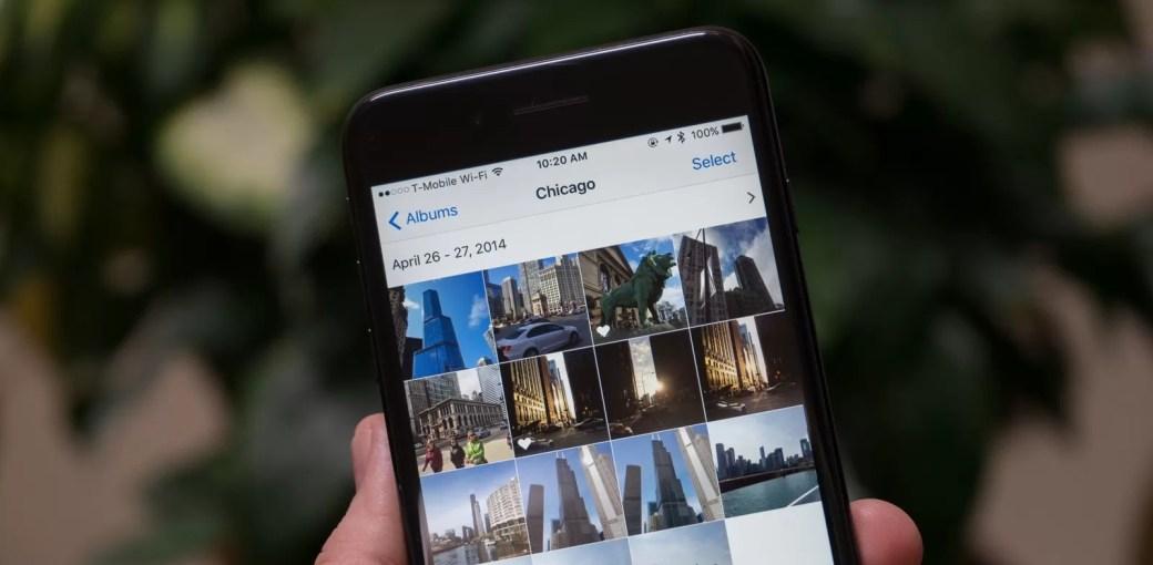 Приложение Фото в iOS