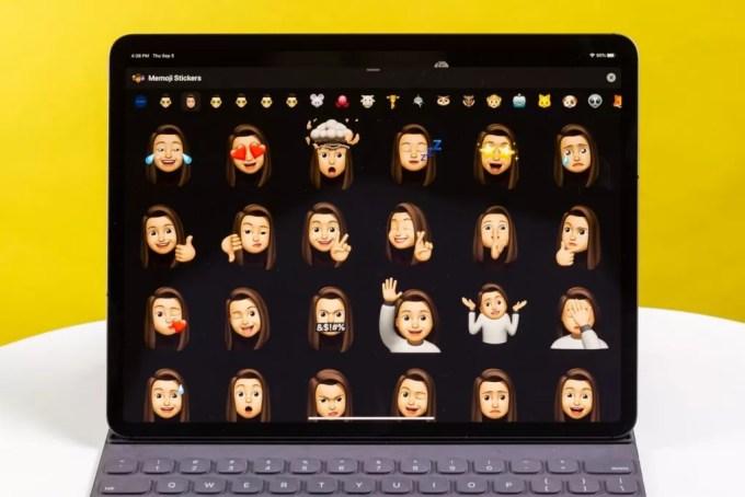 Memoji на iPad с iPadOS 13