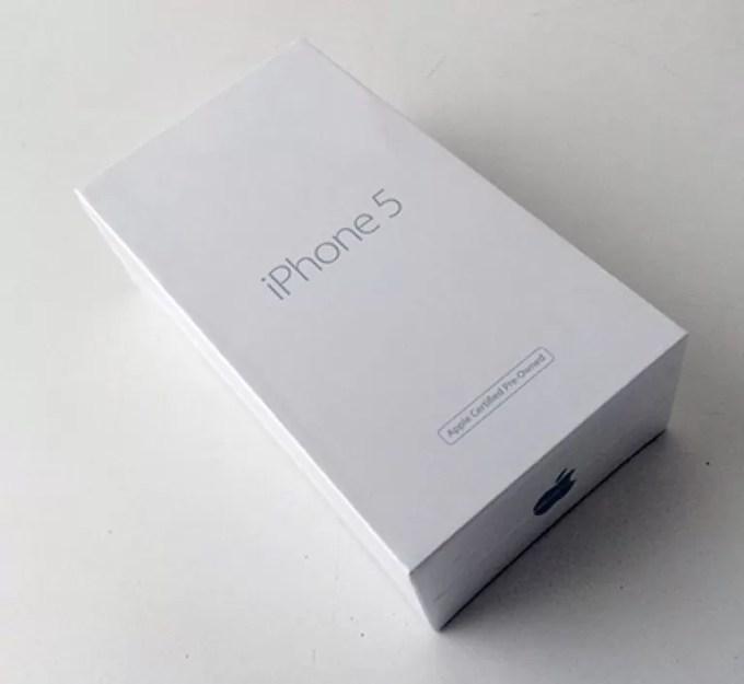 Восстановленный iPhone 5