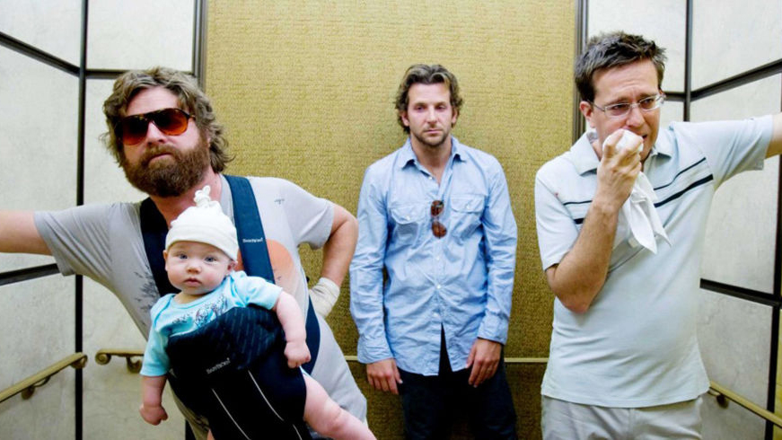 A still from the movie The Hangover