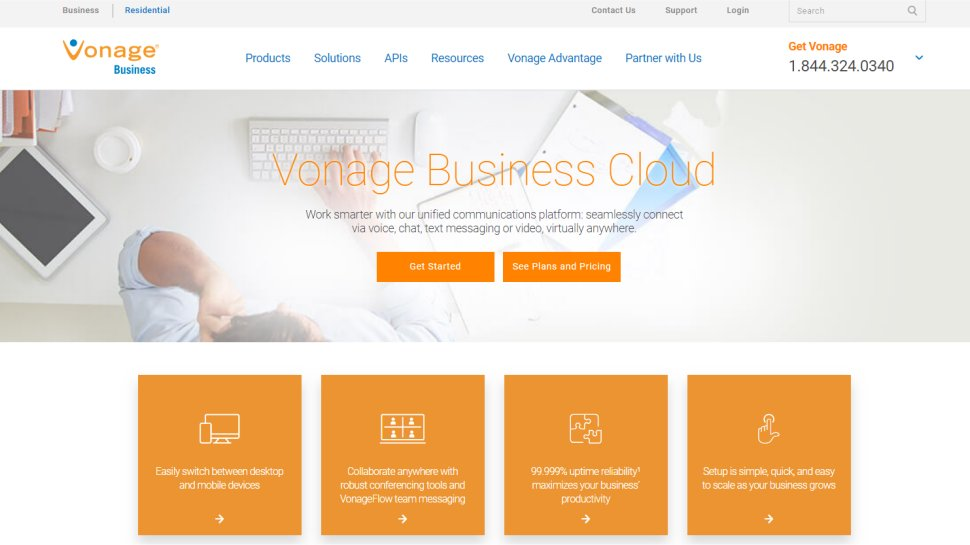 Vonage Business - Keep your switchboard in the cloud without breaking the bank