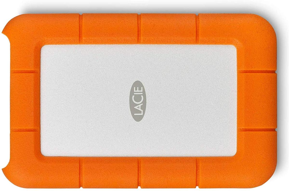 LaCie Rugged USB-C 5TB External Hard Drive