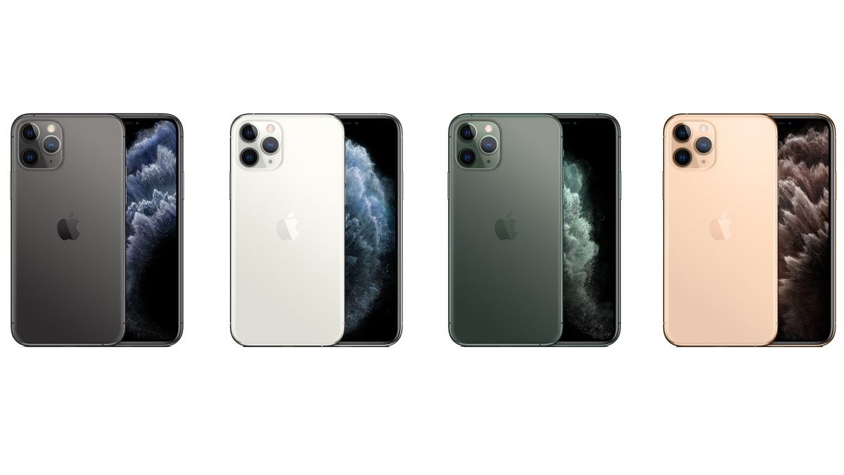 iPhone 11 Pro colors