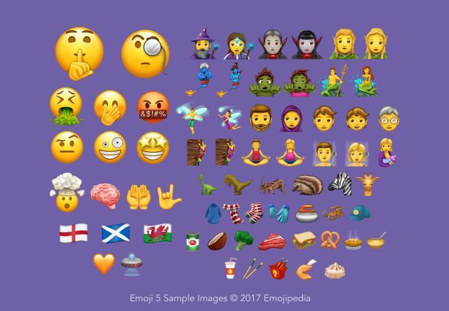 56 nuevos emojis