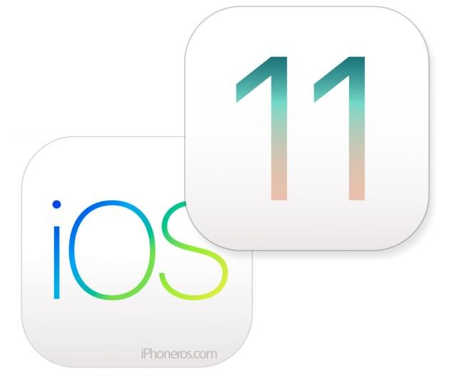 Logo de iOS℗ 11