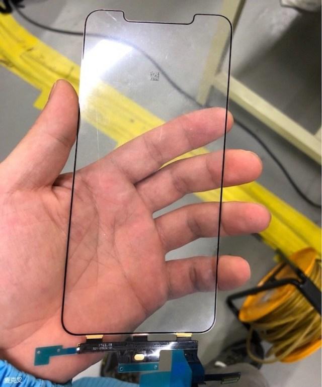 Supuesto cristal y digitalizador de la pantalla de un <stro data-recalc-dims=