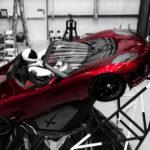 Tesla Roadster rojo que SpaceX envía a Marte