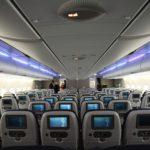 Interior del Airbus A380 de British Airways