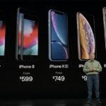 Catálogo de iPhones para el 2018-2019