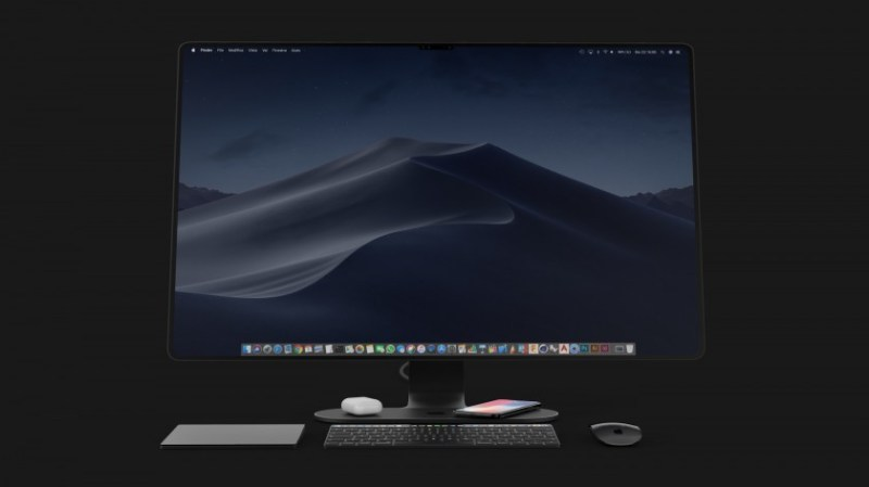 concept imac 2020 face id airpower 4