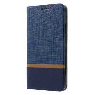Just in Case iPhone X Wallet Case (Striped Blue)