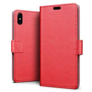Just in Case iPhone X Wallet Case - Rood