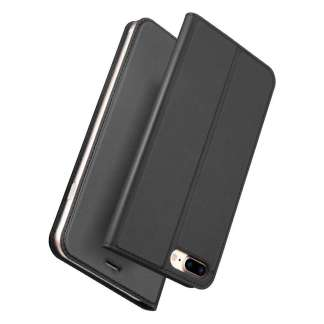 Dux Ducis iPhone 8/7 Plus Wallet Case Slimline - Grijs