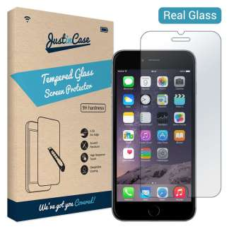 Just in Case Tempered Glass iPhone 6/6s Plus