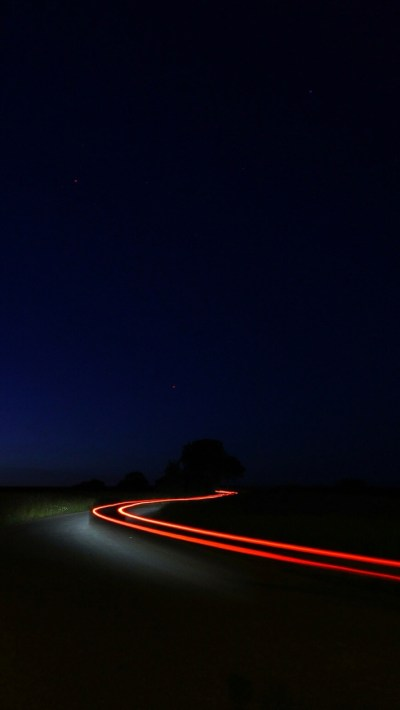 Night-Road-Vehicle-Long-Exposure-iPhone-Wallpaper - iPhone ...