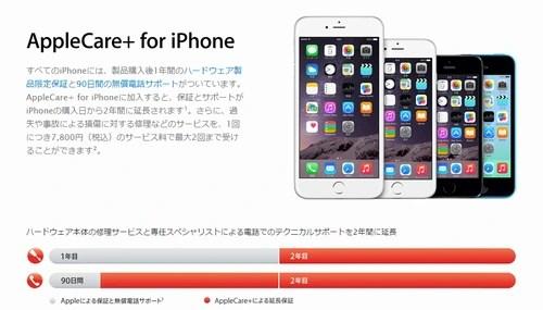 iPhoneを落とした…iPhoneの落下は保証の対象になるの?01