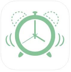iPhoneのアプリを使用して無音バイブのみにする(バイブアラーム)