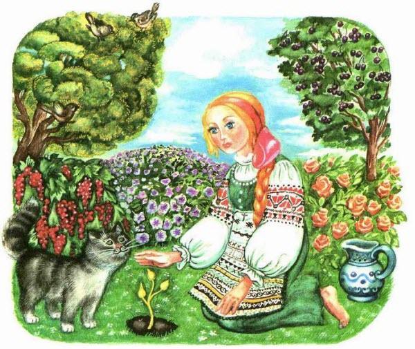 Крошечка-Хаврошечка (русская сказка)