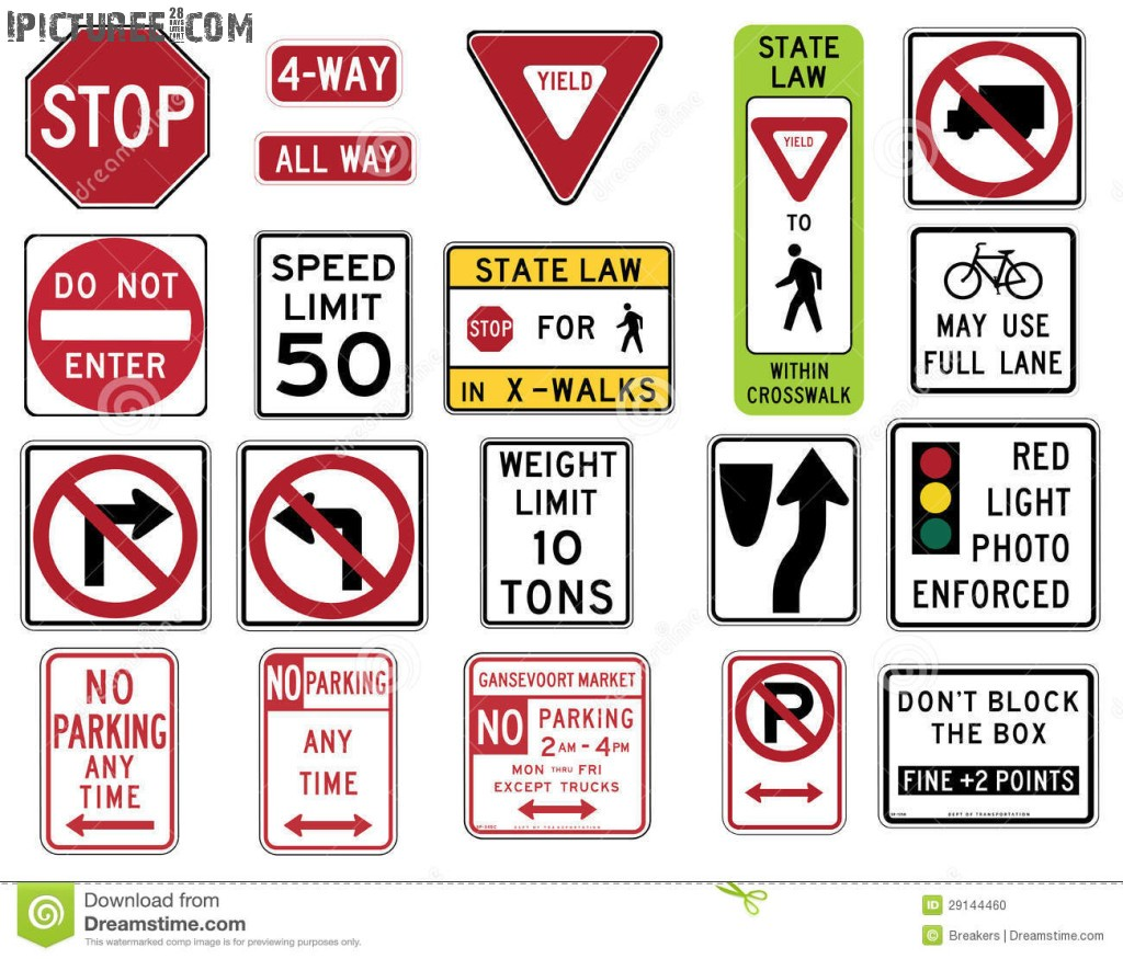 Traffic Signs In The United States Road Regulation