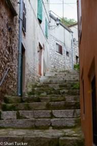 Streets of Rovinj, Croatia