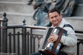 Musician, Venice, Italy