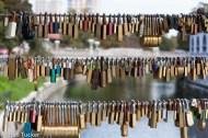 Love locks - Ljubljana, Slovenia