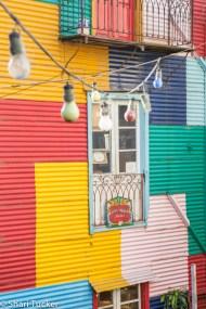 La Boca houses, Buenos Aires