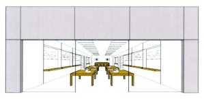 apple flagship store trademark