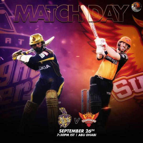 KKR Vs SRH Live Match Update And Playing 11