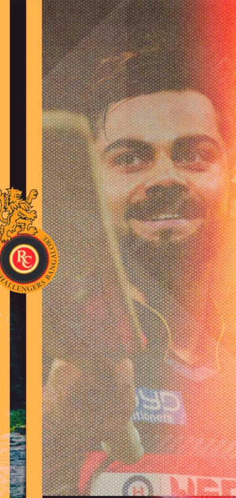 RCB Wallpaper with Caption