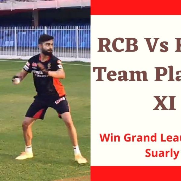 RCB Vs RR Fantasy Dream11 team Prediction