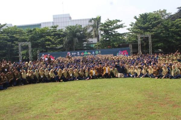 2000 Pelajar Muhammadiyah Ikuti Apel Kebangsaan, Terima Amanat Cinta NKRI
