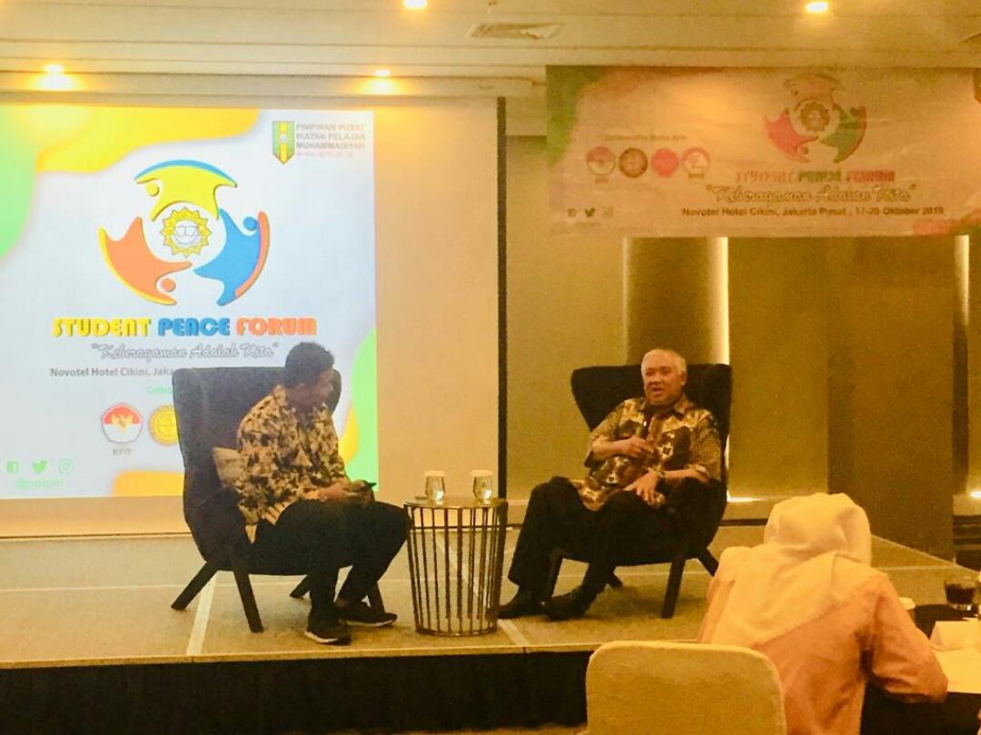 Din Syamsuddin: Jangan Geser Ideologi Bangsa, PP IPM Gaungkan Perdamaian Nasional