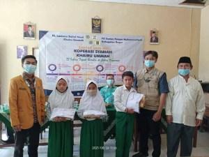 Gandeng Lazismu, IPM Kabupaten Bogor Berikan Kado Milad untuk Siswa