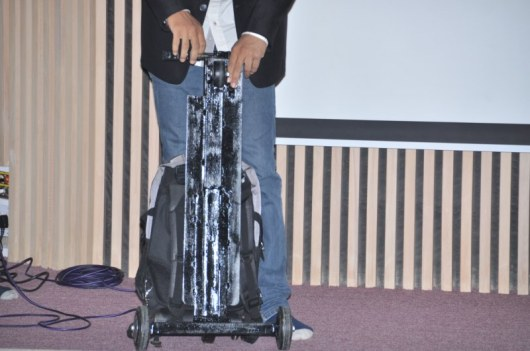 Foldable scooter with bag (6)