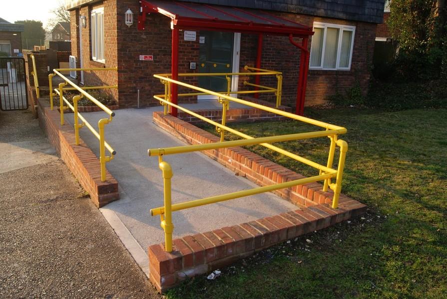 Key Clamp Handrail
