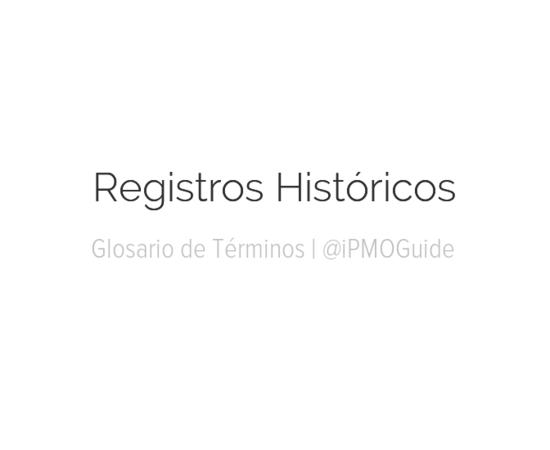Registros Históricos