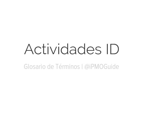 Actividades ID