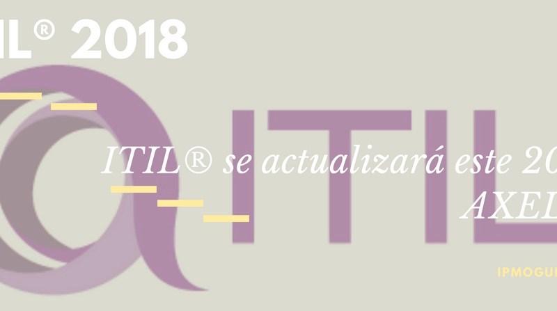 Video – ITIL® se actualizará este 2018: AXELOS