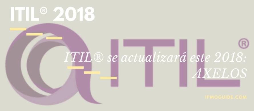 ITIL® 2018- AXELOS