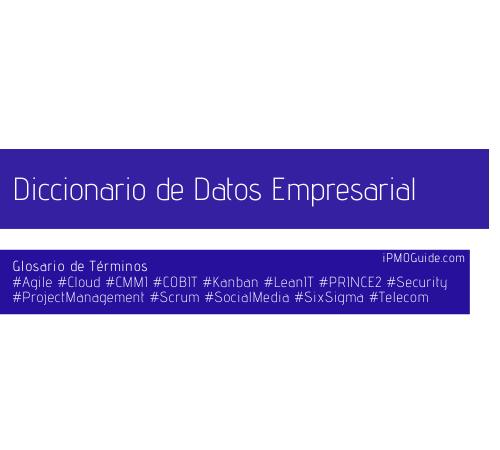 Diccionario de Datos Empresarial